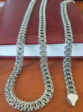 Мужская цепь цепочка Рамзес из серебра браслет