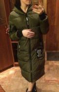 Дизайнерская милитари одежда island, пуховик - Пальто