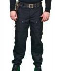 Футболка из бархата с чокером, брюки охраны охранника Спецназ Кедр Черные