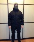 Костюм Горка 5 Черная, куртка мужская утепленная мт-2