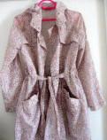 Зимняя куртка с мехом без капюшона, ветровка-плащ, Первомайское