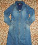 Джинсовый плащ, одежда для женщины после 40 лет, Кузьмоловский