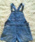 Остин одежда для беременных, джинсовый комбинезон летний