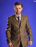 Парки мужские талия, мужской костюм желто-коричневый пр-во Mexico