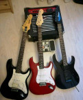 3 эл. гитары комбик процессор