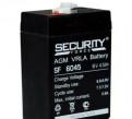 Мото аккумулятор 6В 4.5 А/ч Security Force, купить резину 3.50 18 на мотоцикл