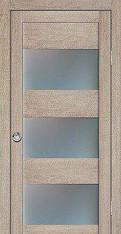 Дверь межкомнатная со стеклом (дверь, коробка, нал