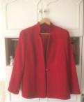 Пиджак темно-красного благородного цвета новый р 4, платье на лето 2018 для полных женщин