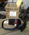 Зеркало левое электрическое Cerato 2009-2013, натяжной ролик ремня грм нексия