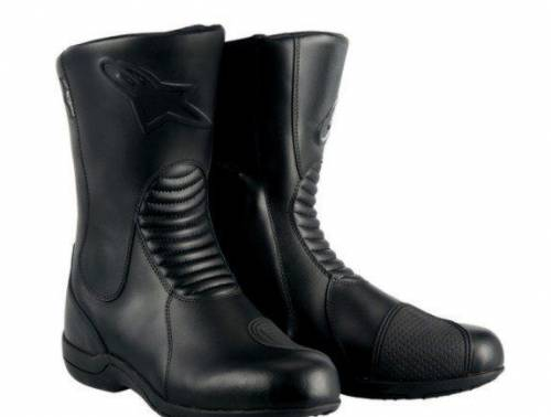 Мотоэкипировка для новичка, мотоботы Alpinestars Boot Andes WP Black, Виллози