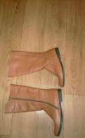Зимняя обувь под шубу, новые сапоги демисезонные