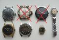Часы СССР (Slava, Восток, Ракета, Заря, Чайка)