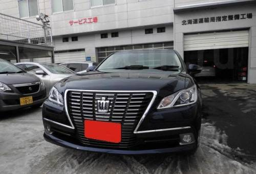 Toyota Crown, 2013, бу ленд ровер фрилендер цена