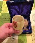 Подарочные бокалы из оникса 2 шт