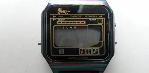 Часы электронные Камертон