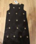 Новое атласное платье сарафан со стразами р. 164, Рябово