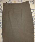 Юбка Франция jose de wolff р-р 42 серая, женские спортивные штаны цвета хаки
