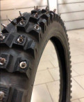 Зимняя резина, фиксатор колеса мотоцикла
