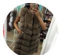 Утепленные брюки дешево, новая натуральная меховая жилетка - песец - 90 см, Тихвин