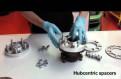 Штатная магнитола hyundai accent 2006, колесные проставки, колесный крепеж и секретки