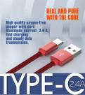 Кабель USB - Type-C 1 метр усиленный, Тосно