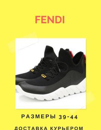 e1f24c1a4 Топовые Fendi кроссовки на шнуровке Уни 39-45, купить зимние ботинки ...
