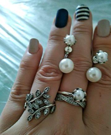 Серебряные украшения. Комплект