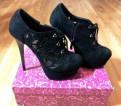 Обувь женская зимняя купить, ботинки новые