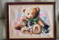 Картина вышивка (крестик)