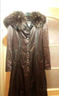 Зимнее пальто, брюки женские для полных бедер
