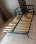Кровать 160*200 металлическая с орт. основанием