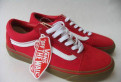 Кеды Vans Old School Skool Красные 39, босоножки на деревянном каблуке, Виллози