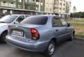 Chevrolet Lanos, 2008, шкода йети цена в россии электрокар