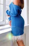 Платье вязаное ручная работа Новое, женские плавки для пляжа