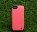 Розовый чехол с аккумулятором iPhone 5c 3000 мАч, Санкт-Петербург
