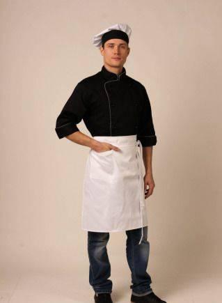 Фартук для официанта классический белый, овервотч заря костюмы