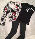 Штаны в клетку с готикой унисекс, новая коллекция одежды Rinascimento Италия