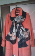 Модного цвета пальто Marella (maxmara) оригинал, пуховики женские дельфин