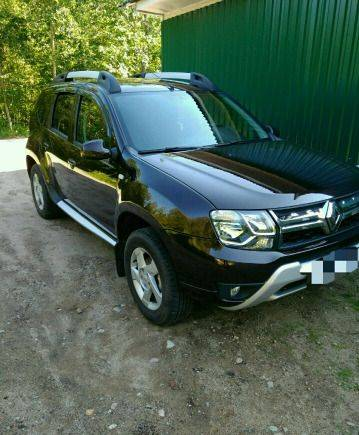 Renault Duster, 2017, toyota land cruiser 200 серый 2008