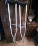 Костыли, коляска, подгузники