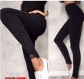 Лосины-джинсы новые, купить трикотаж для платья