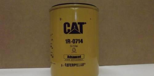 Фильтр масляный 1R-0714 CAT 3208, запчасти камаз 4310