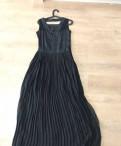 Платье в пол с длинным рукавом для венчания, платье