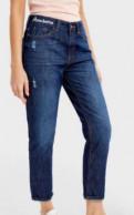 Бальное платье фатин, свободные джинсы