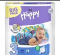 Подгузники Bella Happy baby 3 (5-9 кг)