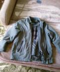 Продается мужская осенняя куртка с подкладкой, майка женская rib
