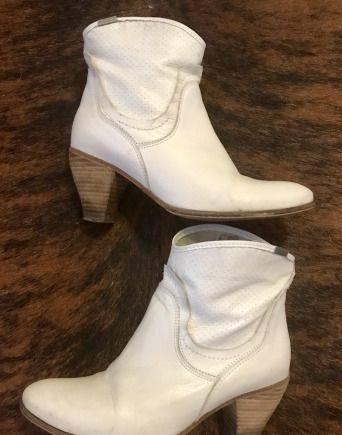 Ботинки, полусапожки кожанные «Mexx», обувь таня хит