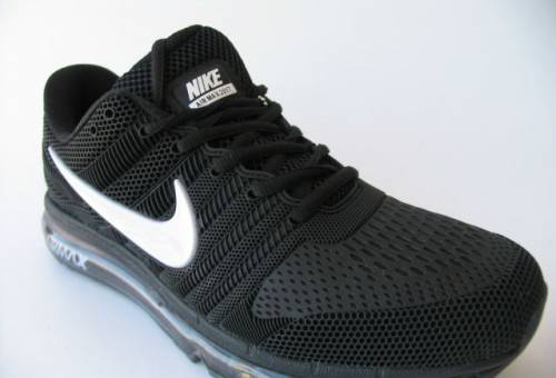 Кроссовки Nike Air Max 2017 Черн. Прорезин. Бел. N40, gucci ботинки купить оригинал