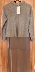 Новый свитер, туника Zara, шубы стриженный бобер цена