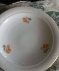 Фарфор гдр. Kahla тарелки. 4шт фарфор